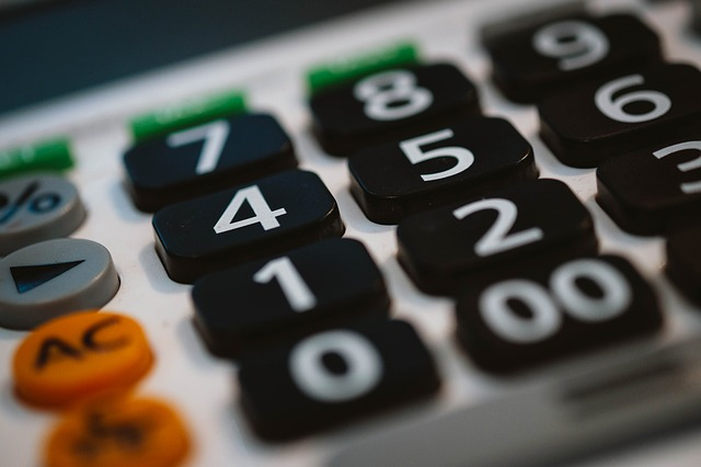 calculator image for fiscal committee